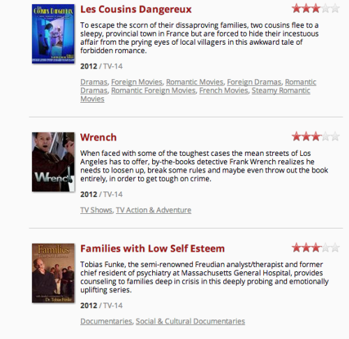 asouvenirfromhell:   So apparently Netflix is releasing these. Click on them, they take you directly to Arrested Development.