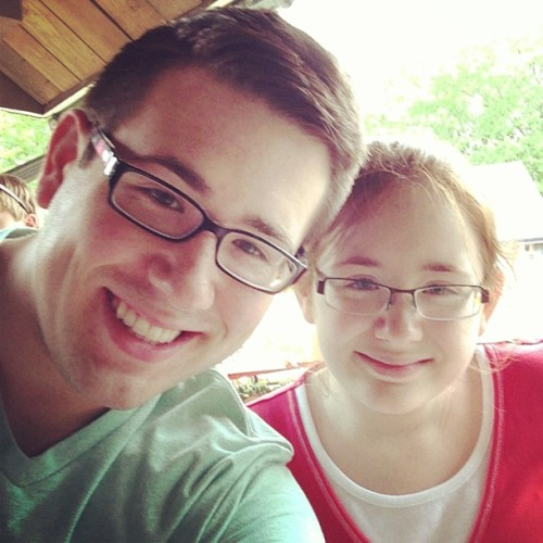 My little twin!  (at Busch Gardens Williamsburg)