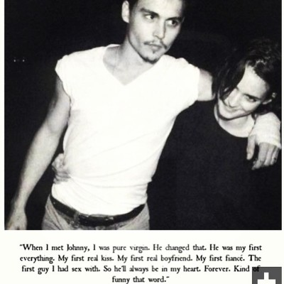 Forever. Kinda funny, that word. #love #johnnyandwinonaforever