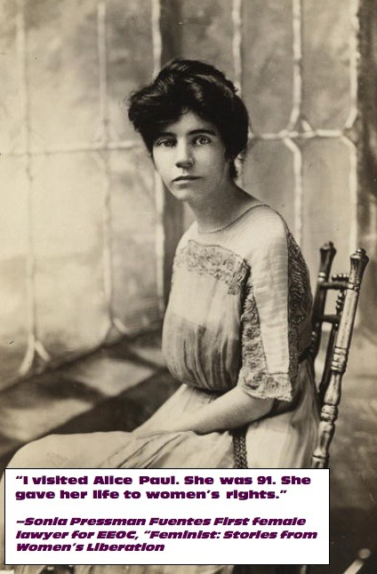 feministstoriesmovie:  Happy Birthday Alice Paul, suffragists, author of Equal Rights Amendment.