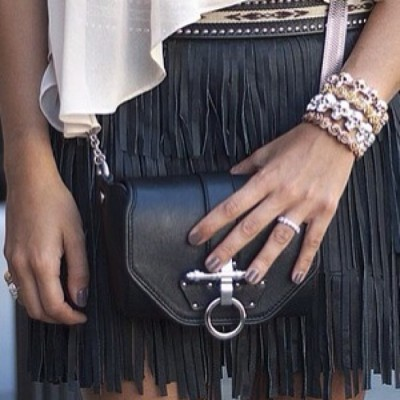 A good fringe is never out of fashion. Agree? #fringe #fashion