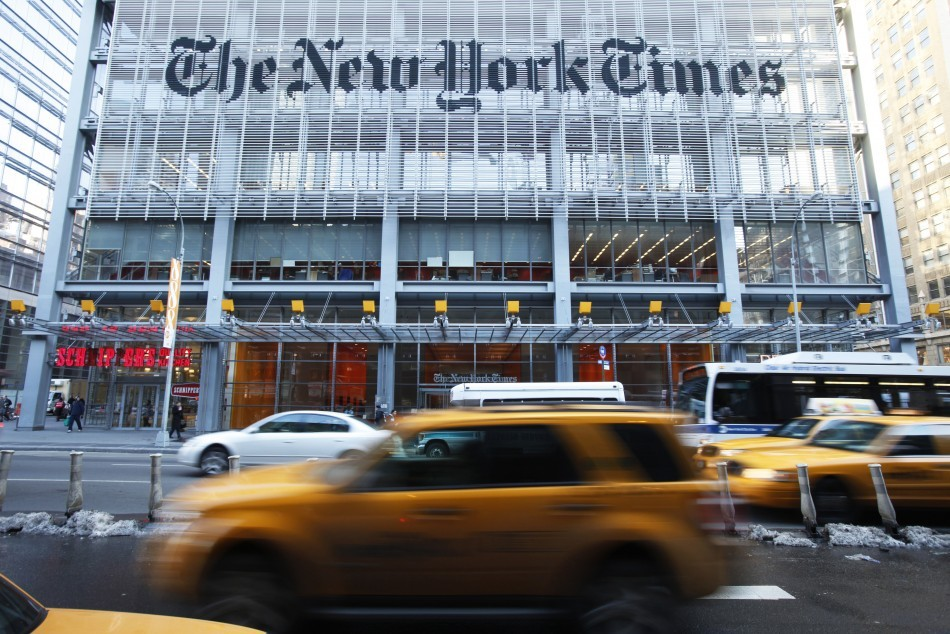 New York Times Attacked by Chinese Hackers – Every Password Stolen. http://www.ibtimes.co.uk/articles/429924/20130131/new-york-times-hacked-china-passwords-stolen.htm