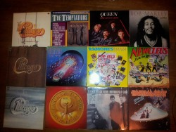 Just a few of my vinyls