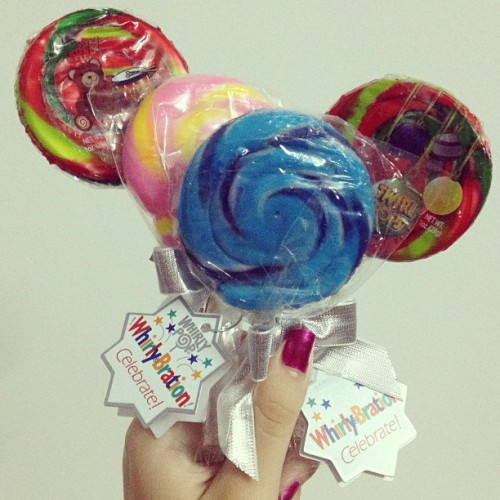 #lollipop #candy #sweet #colourful #blue #pink #love