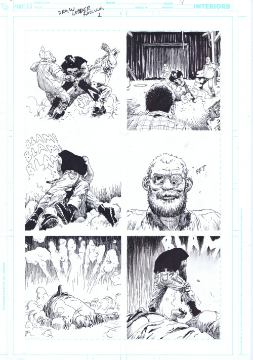 connor willumsen posted scans of the inks from his episode of punisher. BLAM!. via @ianmacewan   here: http://profuse.connorwillumsen.com/?p=668