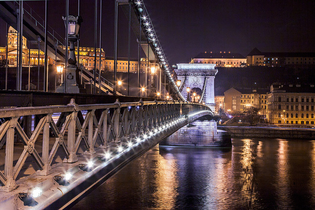 Budapest - Crossing the Danube by John & Tina Reid on Flickr.