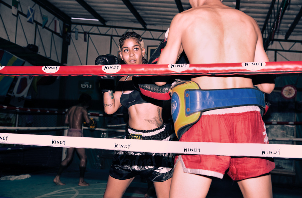 rharha:  MUAY THAI DOLLY - Youth BKK series shot on location soi 38, Bangkok. Shot by Kristen lee moolman Styled by RhaRha /dronegoddess No games squad : Courtney de Witt