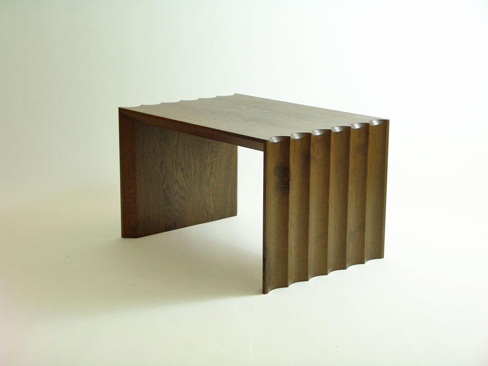 Coffee Table In Smoked Oak By Daniel Harrison Furniture