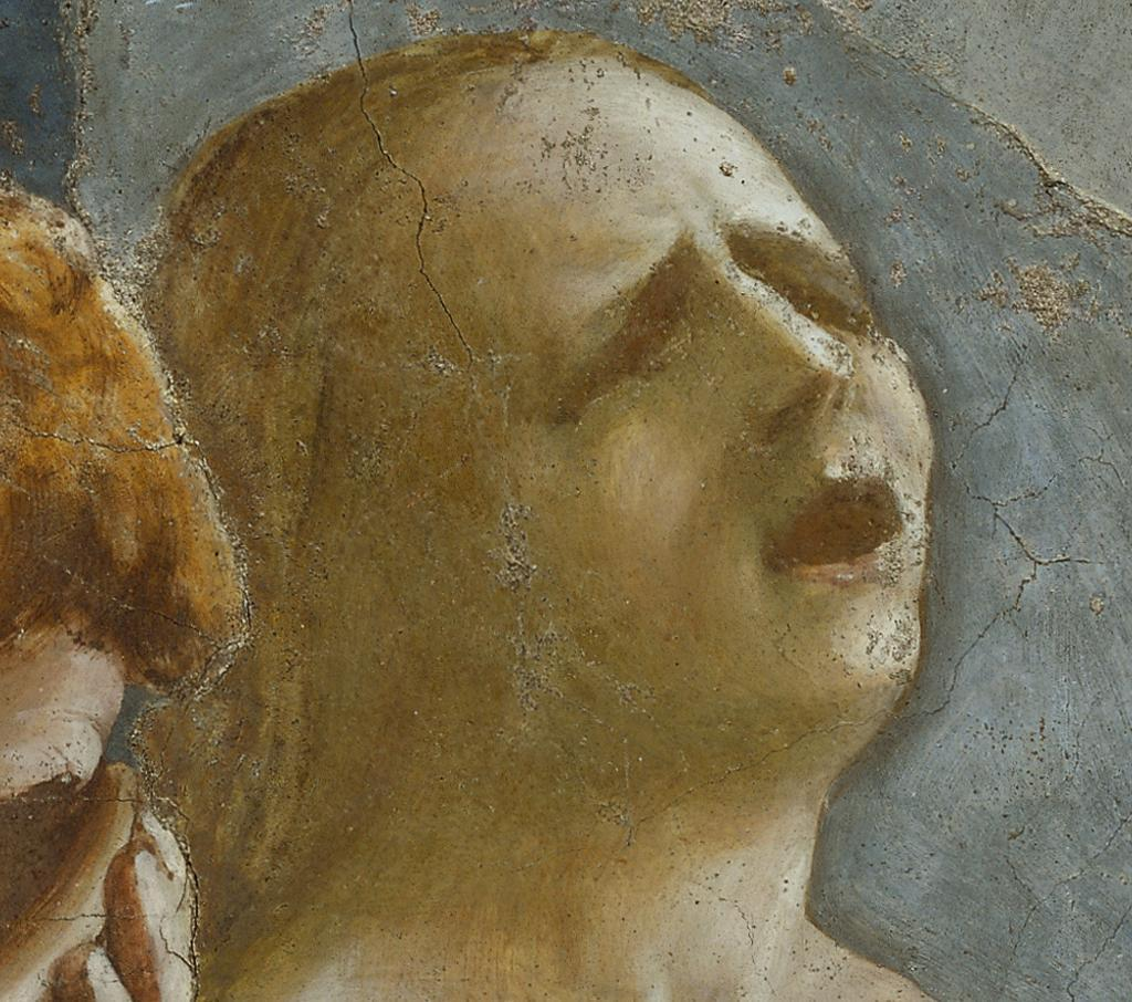 Expulsion of Adam and Eve from the Garden of Eden (detail) Masaccio