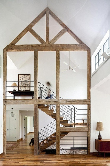 myidealhome:   raw wood architecture (via the style files)