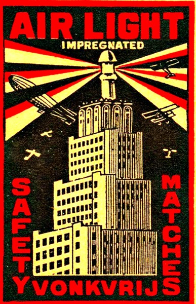 marcedith:  …..matchbox label via  wackystuff….