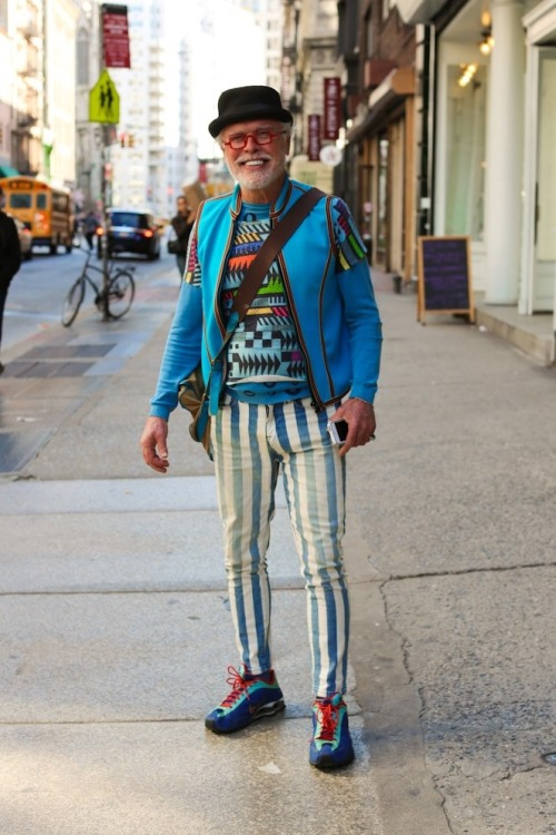 "humansofnewyork:  ""You ever try a Vitamin B shot? That'll get you high!"""