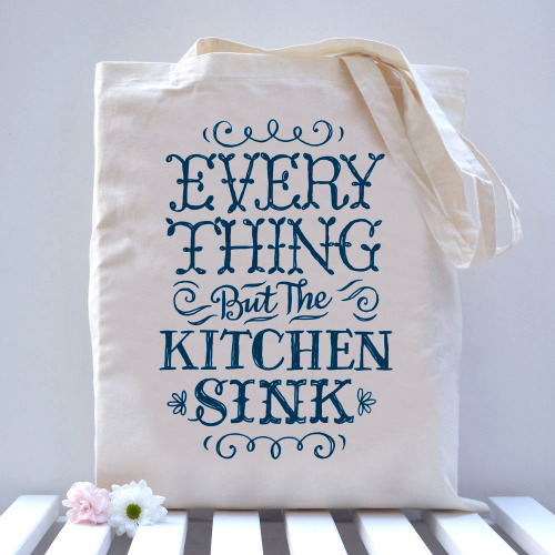 betype:  Everything But The Kitchen Sink Bag (by Alexandra Snowdon)