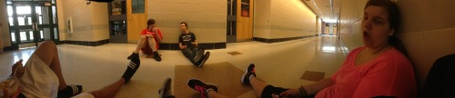 restoringharmony:  The results of a panorama.  I look like Honey Boo Boo Child's mother.