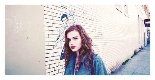 "samia winters. twenty two. media and press. holland roden. this is samia, say hello, she probs wont say hello back just because she's either too busy or she just doesn't care  she has an older brother (the male winters' canon) and she got her job through him, but she doesn't really take it too seriously she doesn't know how to be on time. like ever. she considers herself """"""""""""""""fashionably late"""""""""""""""""" she is the assistant for the gossip columnist at the paper, because they didn't trust to put her anywhere else and have her actually do work so… it's a little raunchy, and sometimes it dishes on things that people wouldn't want out in the open, but she prides herself on getting exclusives for the writer and stuff~  that's how she gets her dirt. she hosts vodka beach parties. she doesn't take much of anything in life seriously, because where's the fun in that????? you can always see her with a starbucks drink in her hand because, well, that shit tastes good. she doesn't have much time for people telling her useless things, and doesn't much care about anyone else but herself.   that's her general reaction to everything.  deep down she knows she's lucky to have the job she has, especially since she's sort of like just out of college, but she got it through her brother who is like sUPER SERIOUS about his job, so she tries not to fuck that up for him if you ask samia for a favour, chances are it wont get done. she's a little aloof and forgets things easily unless she writes it down, which she doesn't do much of unless its for work. she has these dips in her mood/behaviour that people don't really expect, but it's just sTRESS cos  she has a certain issue with men. well, the issue is that she can't get enough of them.   anyways, she needs everything as far as i'm concerned. she's a bit of a maneater, so just gimme all those things friends are probably scarce because she's the worst, just gimme people who can tolerate her and she'll be happy (((((((((like one good girlfriend may suffice. maybe 2.))))))))))) she helps gather info to write a lot of smack, so enemies are a given.  this sounds like a shipper now. hmu homies~"