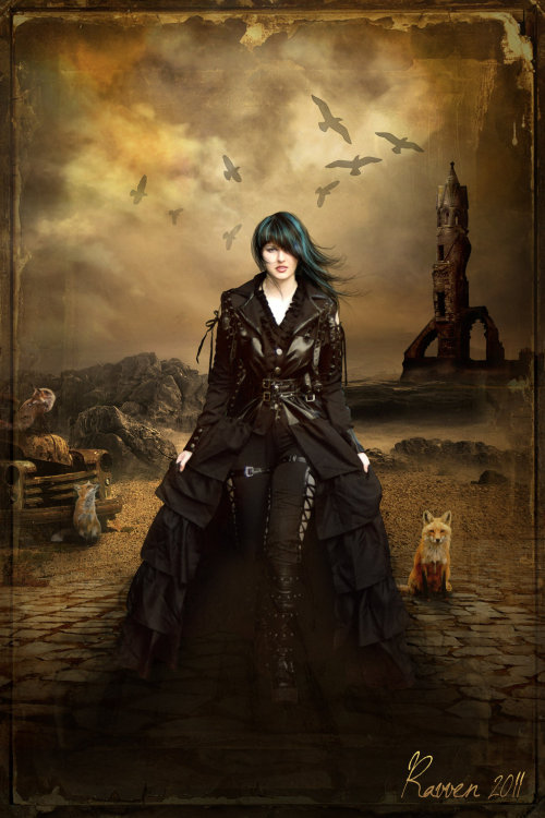 meganjoelpeterson:  Lady of the Apocalypse by ~Ravven78