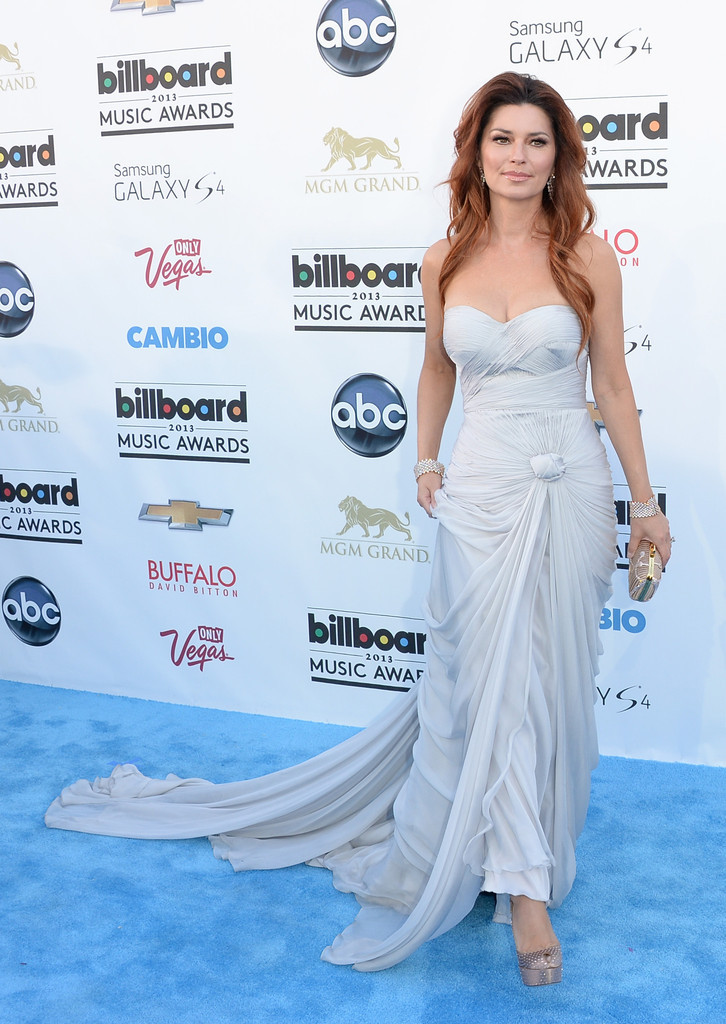 Shania Twain || Billboard Music Awards at the MGM Grand Garden Arena in Las Vegas on May 19, 2013