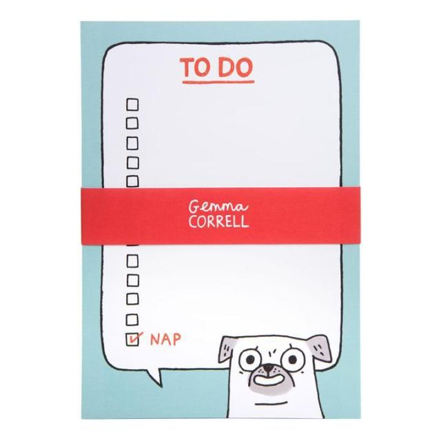 Pug To Do A5 Notepad This pooch will give you the power to get things done (or so we hope).  Designed by Gemma Correll this A5 pad is bound to keep you in check! write a list and tick the box once complete!  Details:  A5 Pad (L: 14.8 x W: 21cm)https://nemb.it/p/ktV5j7ZZlv/tumblr #dailyjournal#dailyplanner#everythingsgoingtobeokay#iloverainbows#journalling#journallingcommunity#journals#lovealist#lovemypug#lovestationary#mildliners#motivational#notebooktherapy#notepad#notepadaddict#notepaddesign#notepadph#notepads#notepadsph#notepadtherapy#notetaking#onmydesk#planneraddict#planning#puglife#Puglifeuk#pugnotebook#pugnotepad#pugsofinstagram#stationaryshop