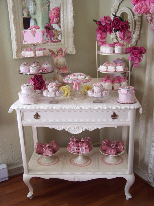 cakes sweets vintage shabby cute kawaii decoration