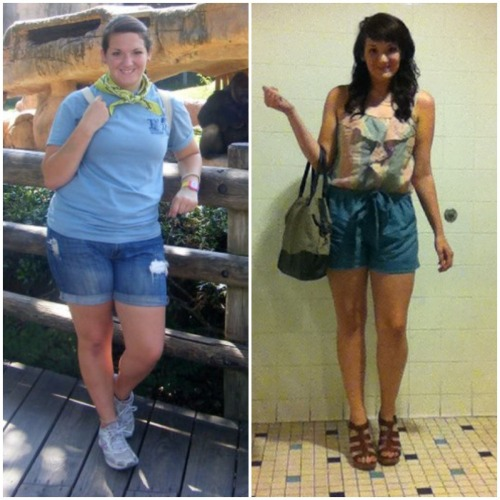 cassandrashrinking:  Summer 2011 (190) vs. Spring 2013 (150) You know what? I am not going to let the approval of others tell me whether or not I've done a good job…. Because I KNOW how far I've come and how hard it has been and what it has cost and taught me. I know. And pictures like this are my proof. They show me that the progress I've made is real.  I am still FAR from where I want to be, but I will get there. I promise.