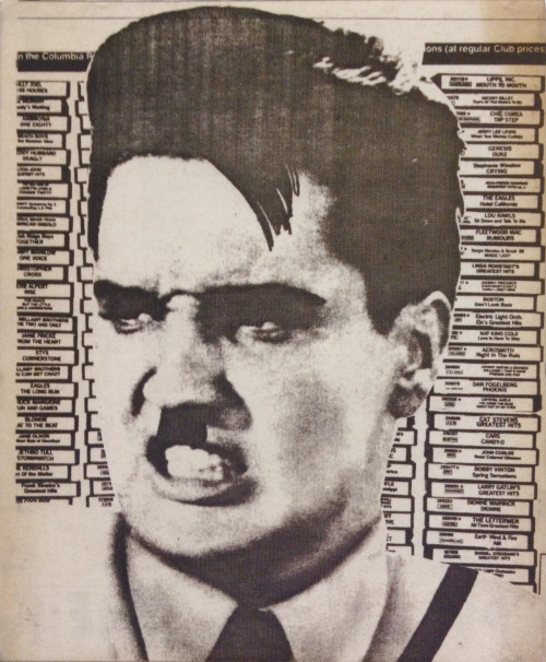 Sub Pop Zine #2 (back cover) 1980