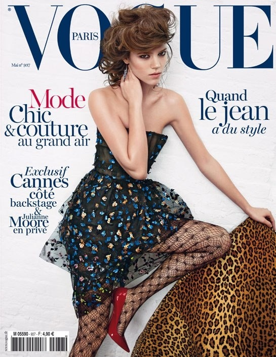 hfgl:  Vogue Paris, May 2013, Freja Beha Erichsen by Inez and Vinoodh