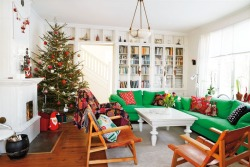 A Christmas home in Sweden. Photo by Pernilla Hed for Hus & Hem.