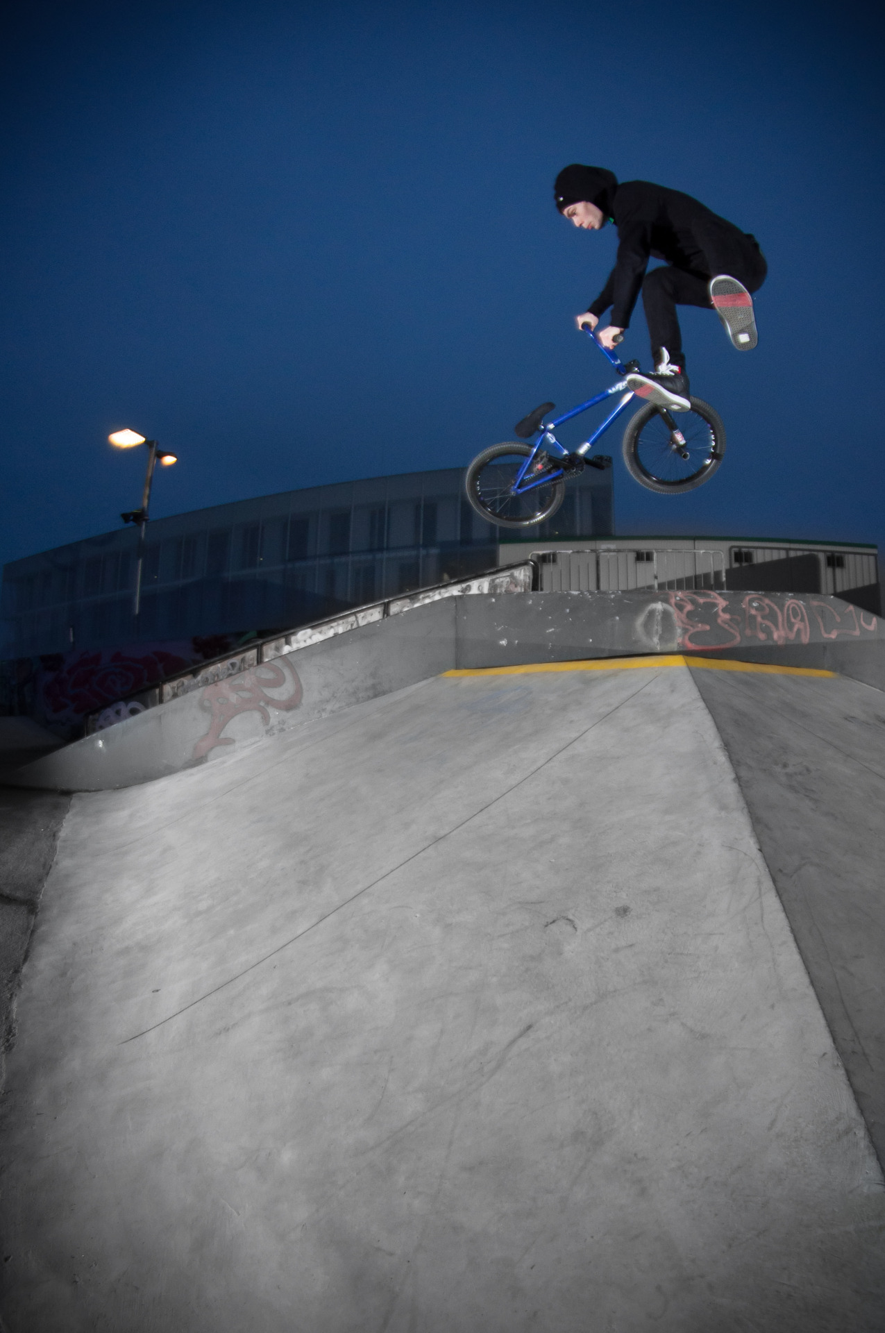 The Bridge BMX Store Owner and BSD rider Thijs - Downside Whip, First Try