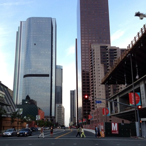 #downtown #la #california #city #buildings #grandave (at City of Los Angeles)