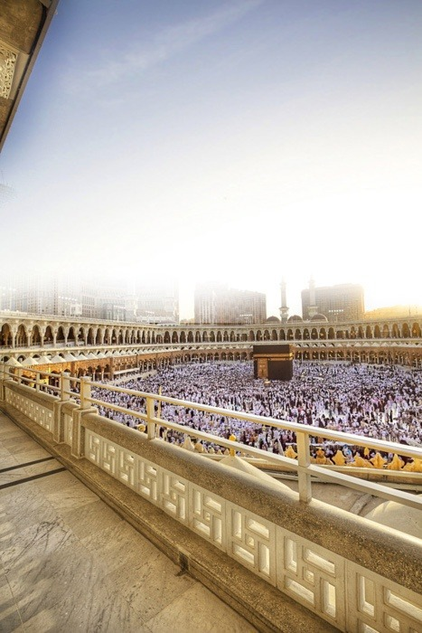 islamicthinking:  Simply breath-taking. (Al-Masjid Al-Haram)  whoaaaa this is beautiful *mata berkaca-kaca*