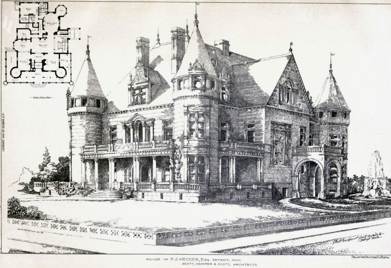 The Hecker Mansion, Detroit