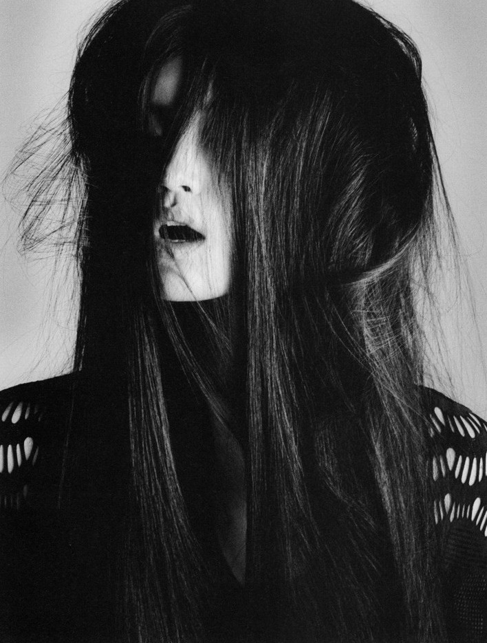 balenciwanga:  Ming Xi in i-D Magazine October 2010
