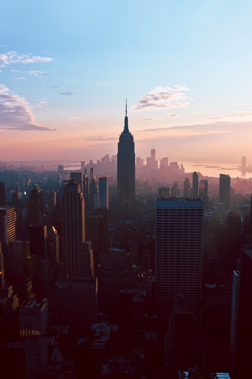 neverlandiswaitingforyou:  New York City babe! on We Heart It - http://weheartit.com/entry/51461689/via/alsowildhipster