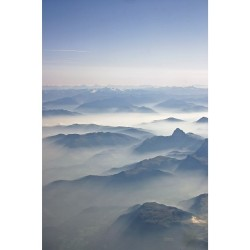 Mountains #inflight over Germany.  (at German Airspace)