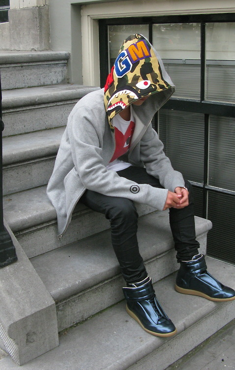 O Shark Tumblr bape camo jacket | Tum...