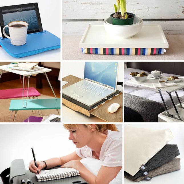 Ah-mazing! 7 lap desks that you'll actually LOVE! See them here.