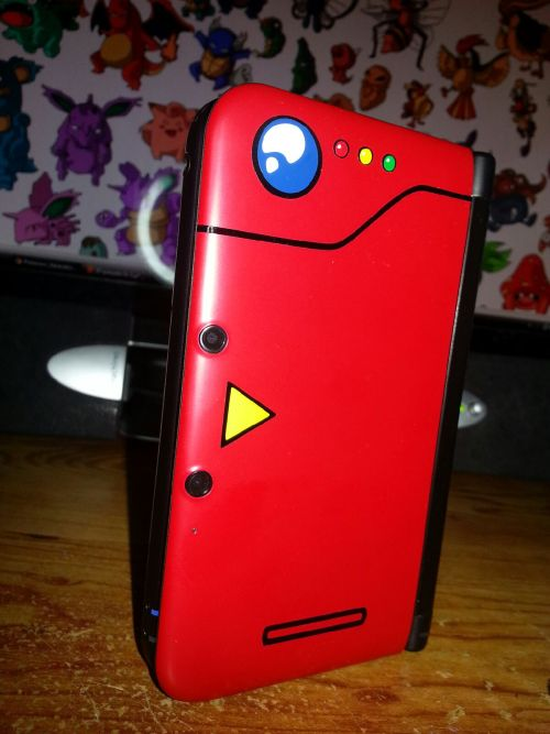 """Bought my fist 3DS with the news of X and Y, decided to make it a PokeDex.""-Via"
