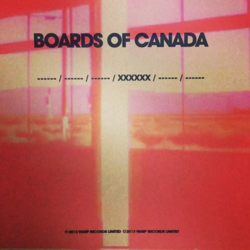 So excited at the prospect of new Boards of Canada material