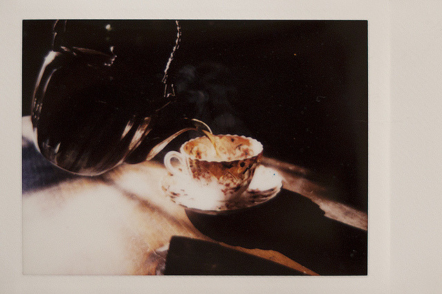 [instaxmini] tea time by phaseviii. blog at sage & spice.
