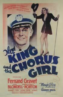 365 Film Challenge - 11/365 - 'The King and the Chorus Girl' (1937) Just finished watching this film and I don't know what else to say, except, this movie is an absolutely fabulous romantic-comedy. It's on youtube, so you have no excuse to not watch it!