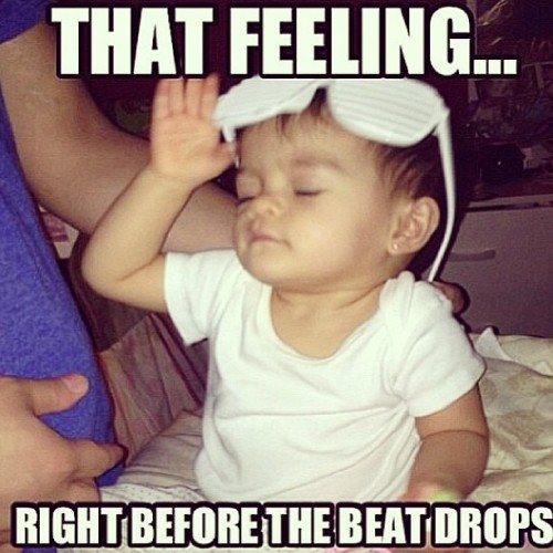 mtap34:  That #feeling #right before the #beat #drops #baby #dj #paulyD #haha #onesandtwos #glasses #shades #stunnashades