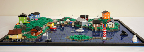 legozz:  Maritime Fishing Village (by True Dimensions)
