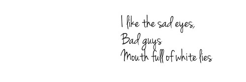 If you save it please like it, thank you baby. #badguys#header#headers#halsey#twitter#dark#white #black and white #black
