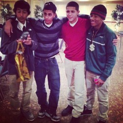 The homies #tbt #soccerbanquet