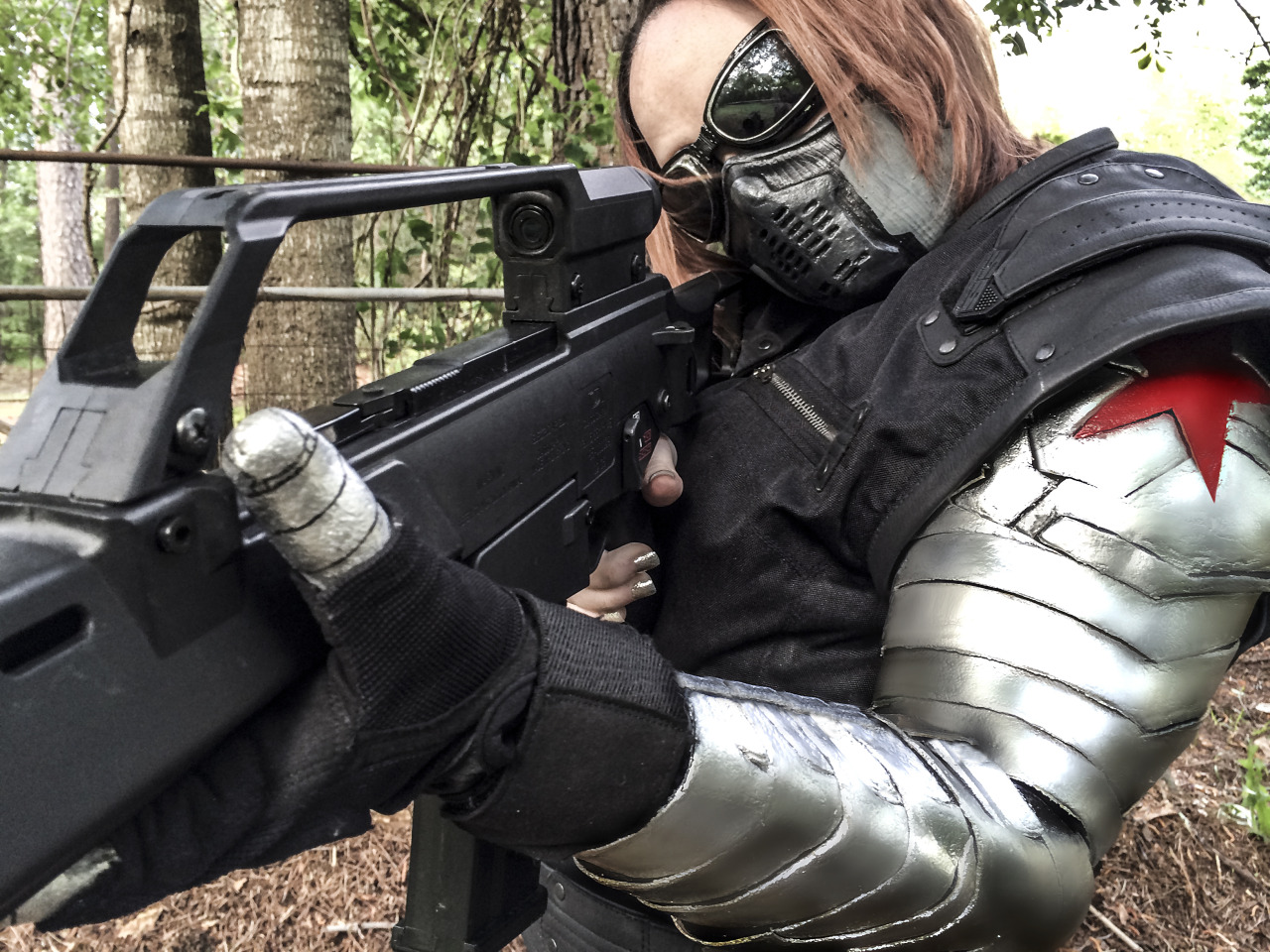 Submission Weekend! Winter SoldierfromCaptain America: The Winter Soldier  Cosplayer / Submitter: Kitty Barnes