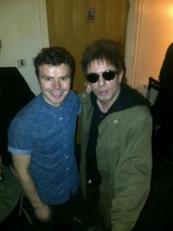 with living legend Ian McCulloch