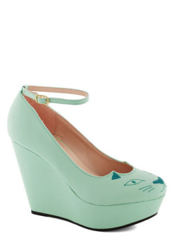 minty cat wedges!