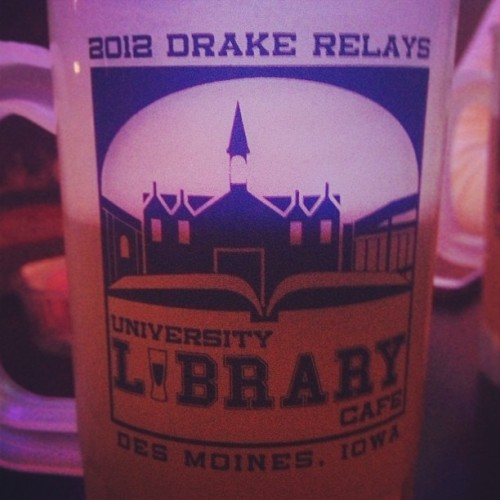 Doing a tour of Drake bars. It may be last years mug but who cares? #relays