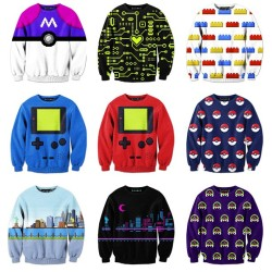 NOW AVAILABLE! My 2nd batch of Pixel Sweaters!  Only at BelovedShirts.com! ♥