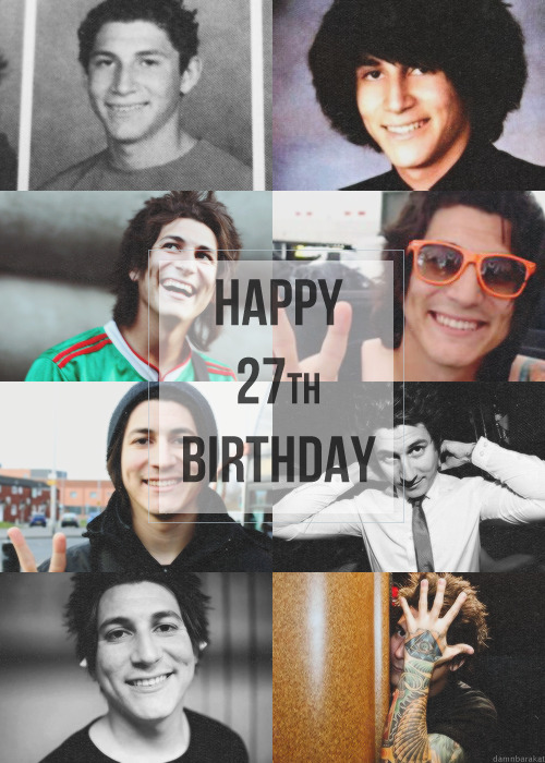 Happy 27th Birthday, Jaime Alberto Preciado!